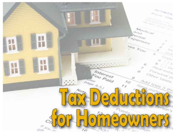 tax deduction for homeowners,